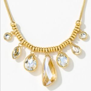 Golden Crystal Necklace Swarovski Touchstone BNIB